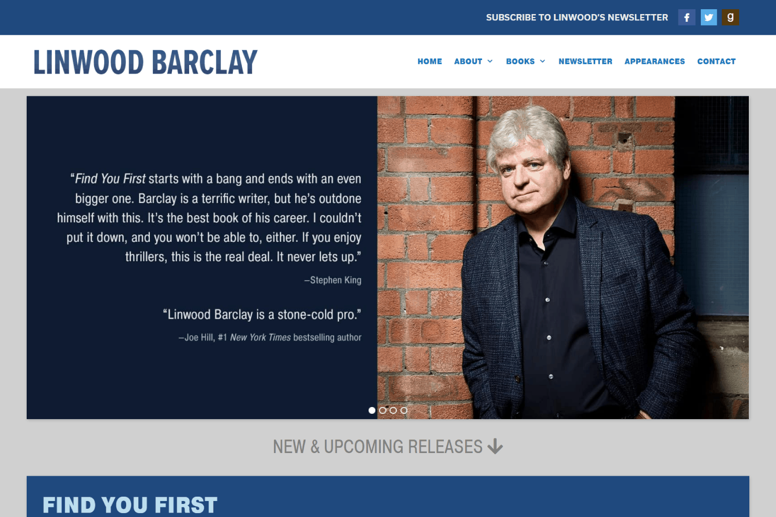 Linwood Barclay 2021 (Find You First)
