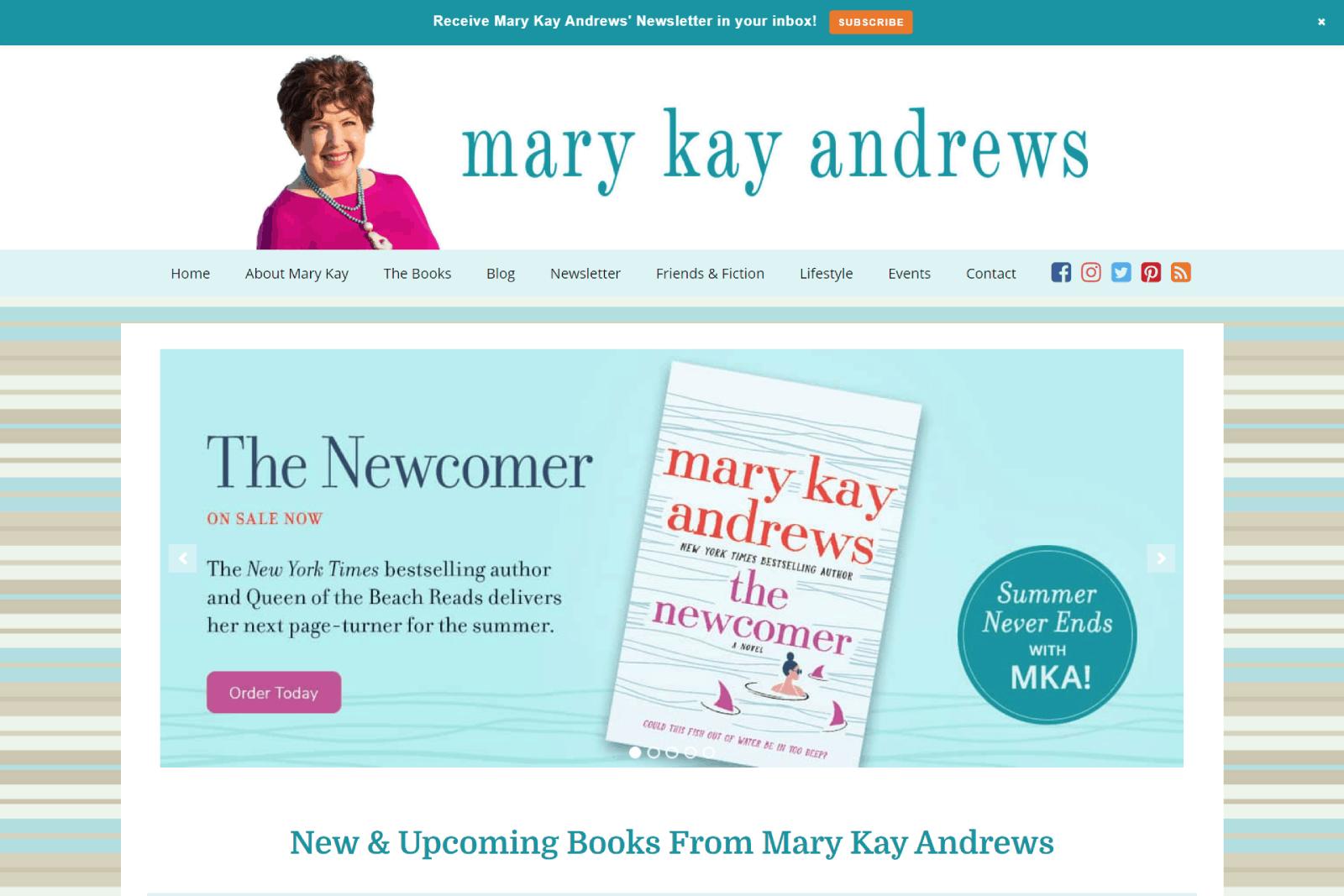 Mary Kay Andrews 2021
