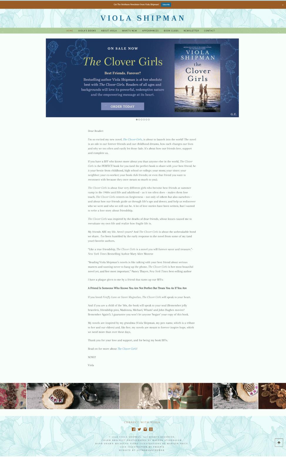 Viola Shipman 2021 Update