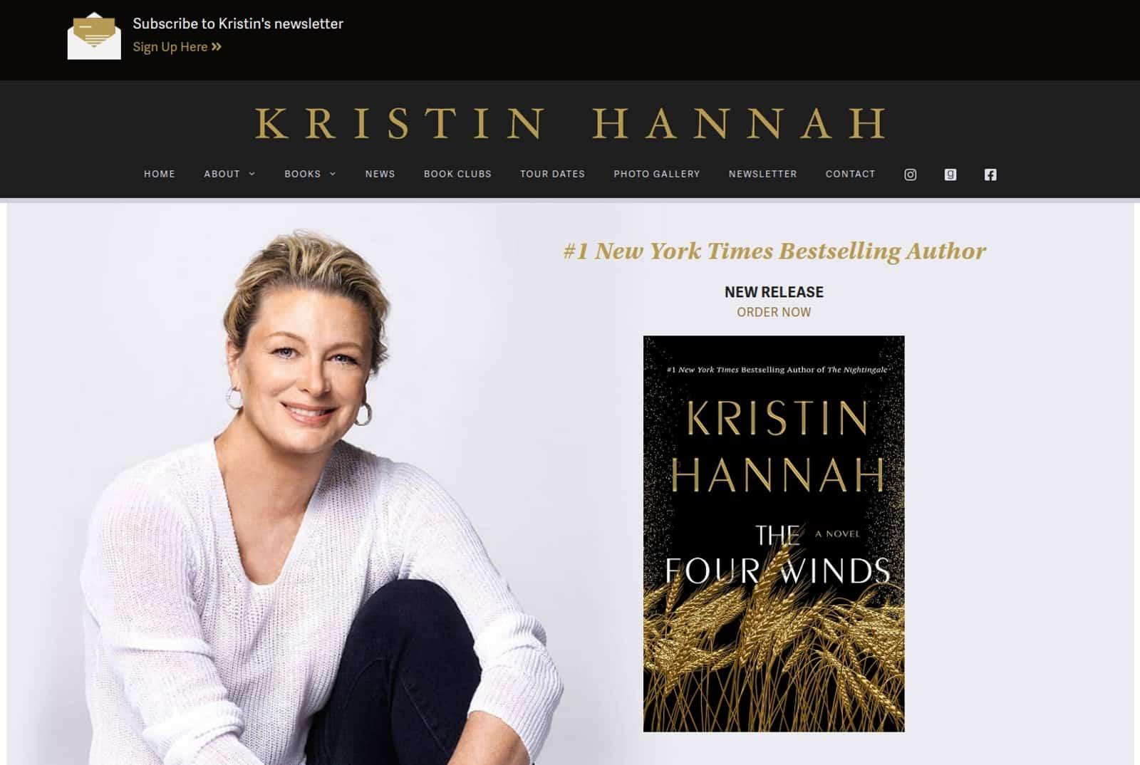 Kristin Hannah Slide Image Feb 2021